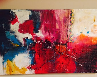 Abstract Handmade Art painting