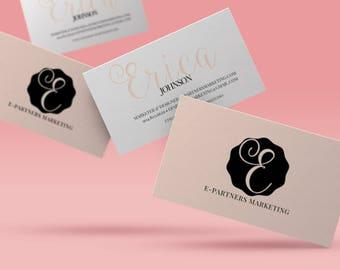 CUSTOM Business Card Design   Business Branding Design   Custom Stationery