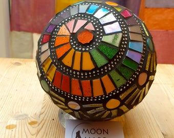 Custom Mosaic Garden Gazing Ball Orb Sphere