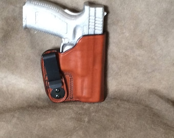 Springfield XD 9/40 IWB Leather Holster