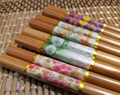 Sweet Colorful Floral Design Chopsticks (Set of 4 Pairs)