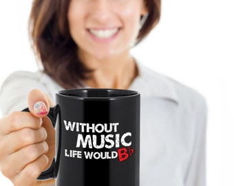 Music Mug - Music Coffee Mug