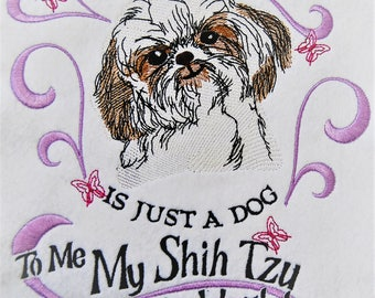 Sotis stick file My Shih Tzu for the 18X30ER frame