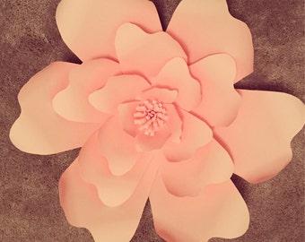 DIY Paper Flower Template# 8