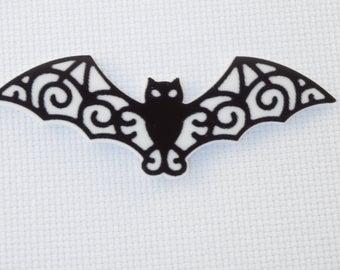 Bat Needleminder / Resin Bat Needle Minder / Halloween Needleminder