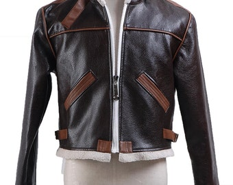 Resident Evil 4 leon kennedy Jacket Cosplay Costumes