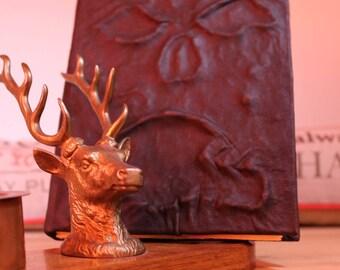 """Evil Dead Necronomicon Ex-Mortis Book - Real leather Necronomicon Journal - Book of the Dead - A6 4.1""""x5.8"""" small  - Ash vs Evil Dead"""