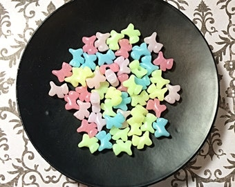 Pastel kawaii Scottie dog beads