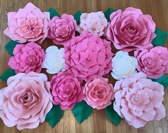 Large Paper Flower Backdrop/Nursery Decor *****Customize your Order******