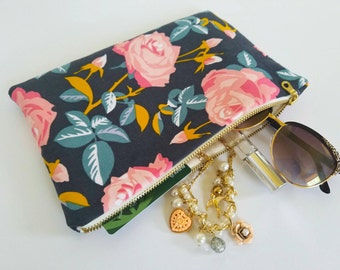 Clutch Purse, Make Up Bag, Gifts for Her, Christmas Gift,
