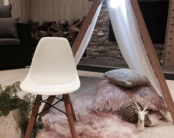 A Frame Kids Play Tent / Teepee Clothes Rack Conversion