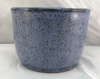Medium Blue Crock/Bowl - Stoneware
