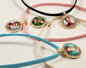 Frida Kahlo- Choker Necklace