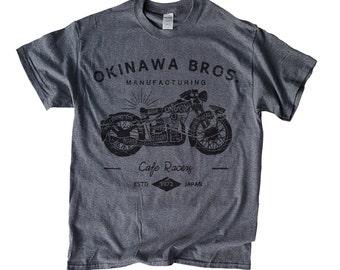 Okinawa Japan Café Racer Brothers - Japan T-Shirt