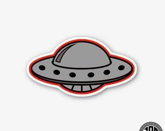 UFO - Die Cut Sticker