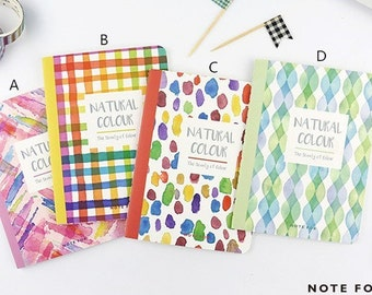 Nature's Color Notebook Set - Pocket Size