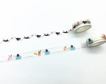 Cute Animals Washi Tape