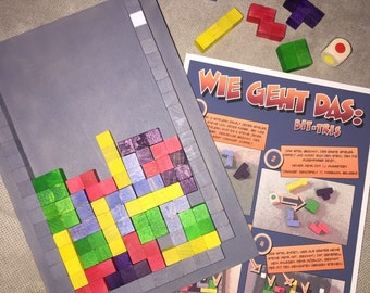 Tetris board game