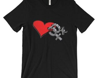 Lesbian Marriage Love Pride Short Sleeve T Shirt~ Sizes S - 4XL