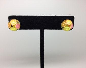Juicy Fruit Hypoallergenic Stud Earrings 12mm