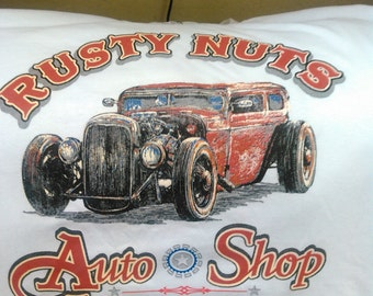Rusty Nuts Auto Repair T-shirt