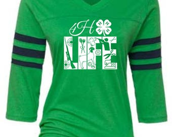 Ladies 4H tees-4H t-shirt-Womens 4H Apparel