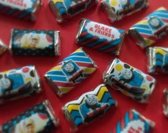 Thomas The Tank Miniature Candy Bar Wrappers