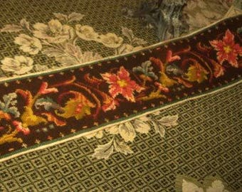 beautiful headband tapestry hand time 19 th.