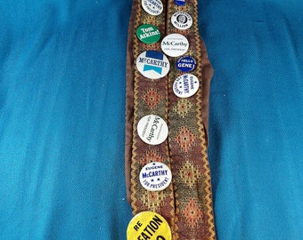 McCarthy for President 1968 Political Campaign Buttons
