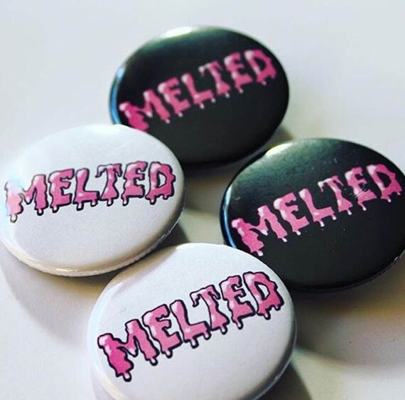 melted pin