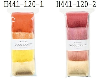 Hamanaka Woolcandy 4 colors Set H441-120