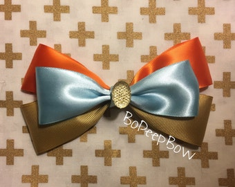 Lady and the Tramp Inspired Bow
