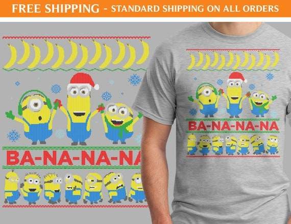 Despicable Me Minion Ugly Sweater Shirt