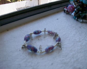 I love Jesus charmed bead bracelet