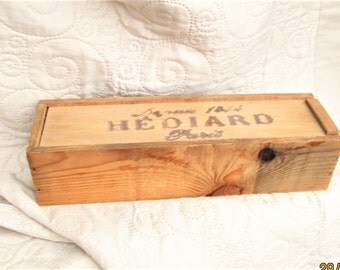French Box, paris boxes, vintage wood boxes, hediard box, treasure boxes, trinket boxes,