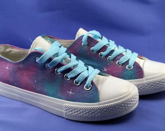 Galaxy Shoes Pink & blue