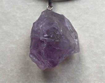 Amethyst Crystal necklace,amethyst pendant,natural gemstones,gemstone jewellery,healing crystals,spiritual jewellery,wicca,pagan,crystals