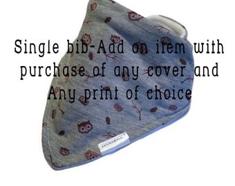 Single bib - Add-on item ONLY with purchase of a cover