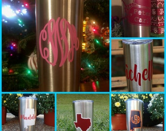 20oz Personalized Insulated Tumbler
