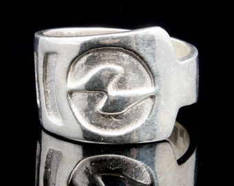 Hand Crafted .999 Fine Silver Ring