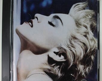 Madonna - True Blue - USED Music CD - 1986 Release - Features Papa Don't Preach