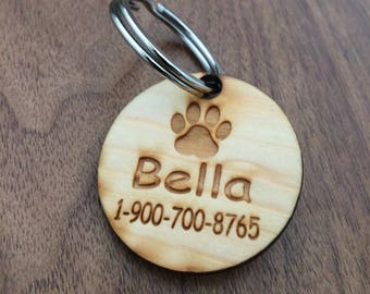 Dog tag Personalized engraved custom engraving  dog tag name tag laser cutting