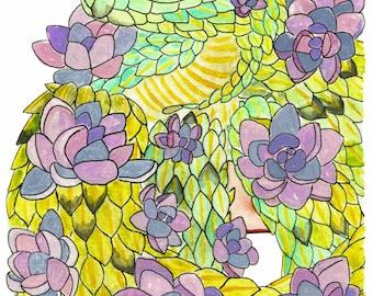 Succulent Bush Viper