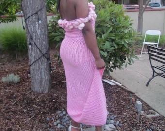 High split dress