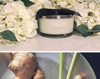 Lemongrass & Ginger Triple Wick Candle