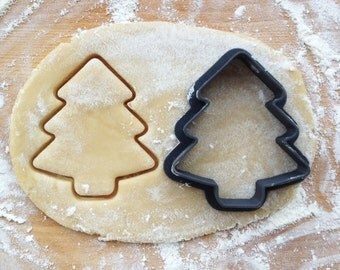 Christmas tree cookie cutter. Fir-tree cookie cutter. Christmas cookie cutter