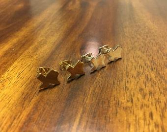 Texas Earrings - Texas Jewelry - Texas Outline - Texan Earrings - State Jewelry - Texas - TX Jewelry - TX Earrings - TX Outline - Texas Love