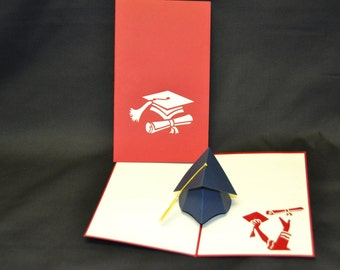3-D Graduation Pop-Up Card