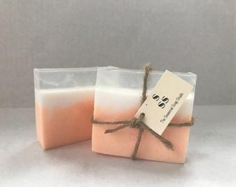 4 oz Pineapple Mango Dreamsicle Homemade Soap