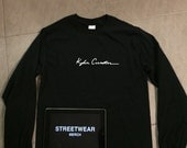 Kylie Jenner KYLIE COSMETICS long sleeve black shirt  exclusive